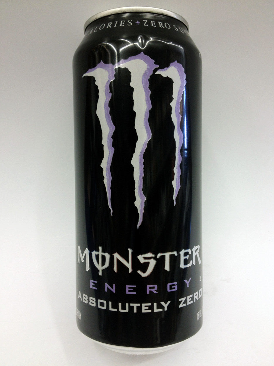 Monster Absolutely Zero Energy