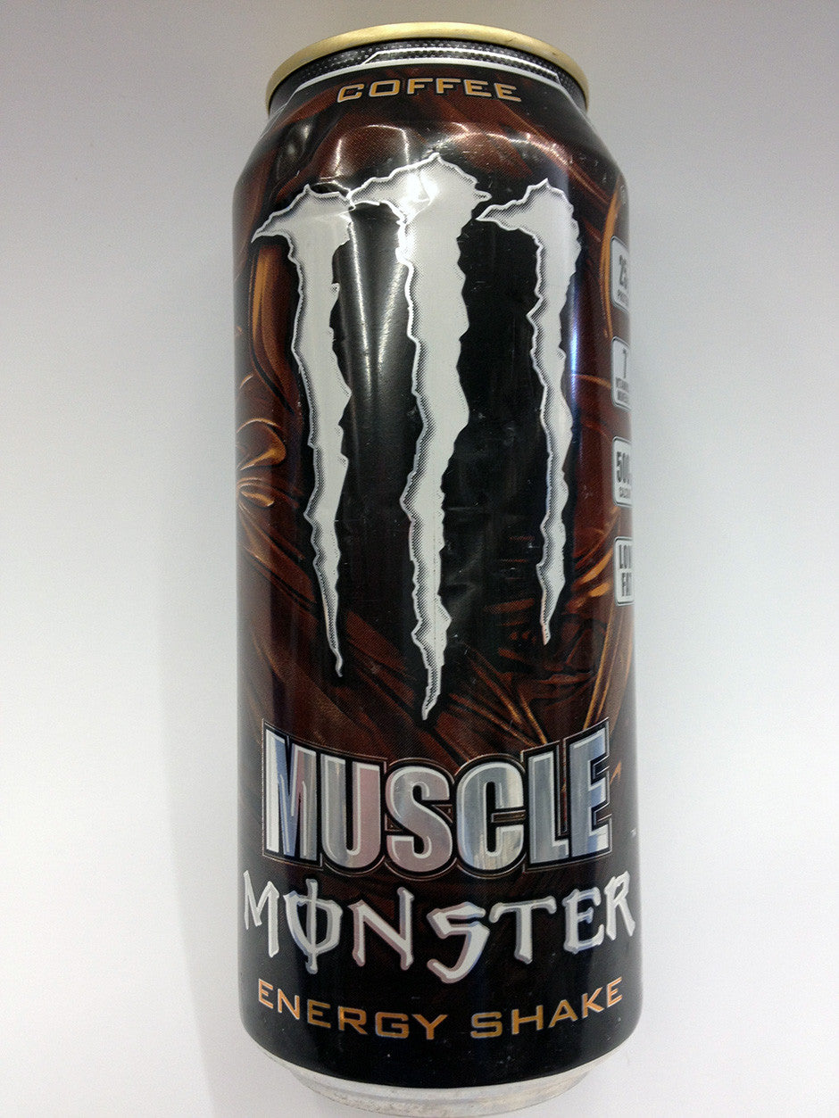 Monster Muscle Coffee Energy Shake