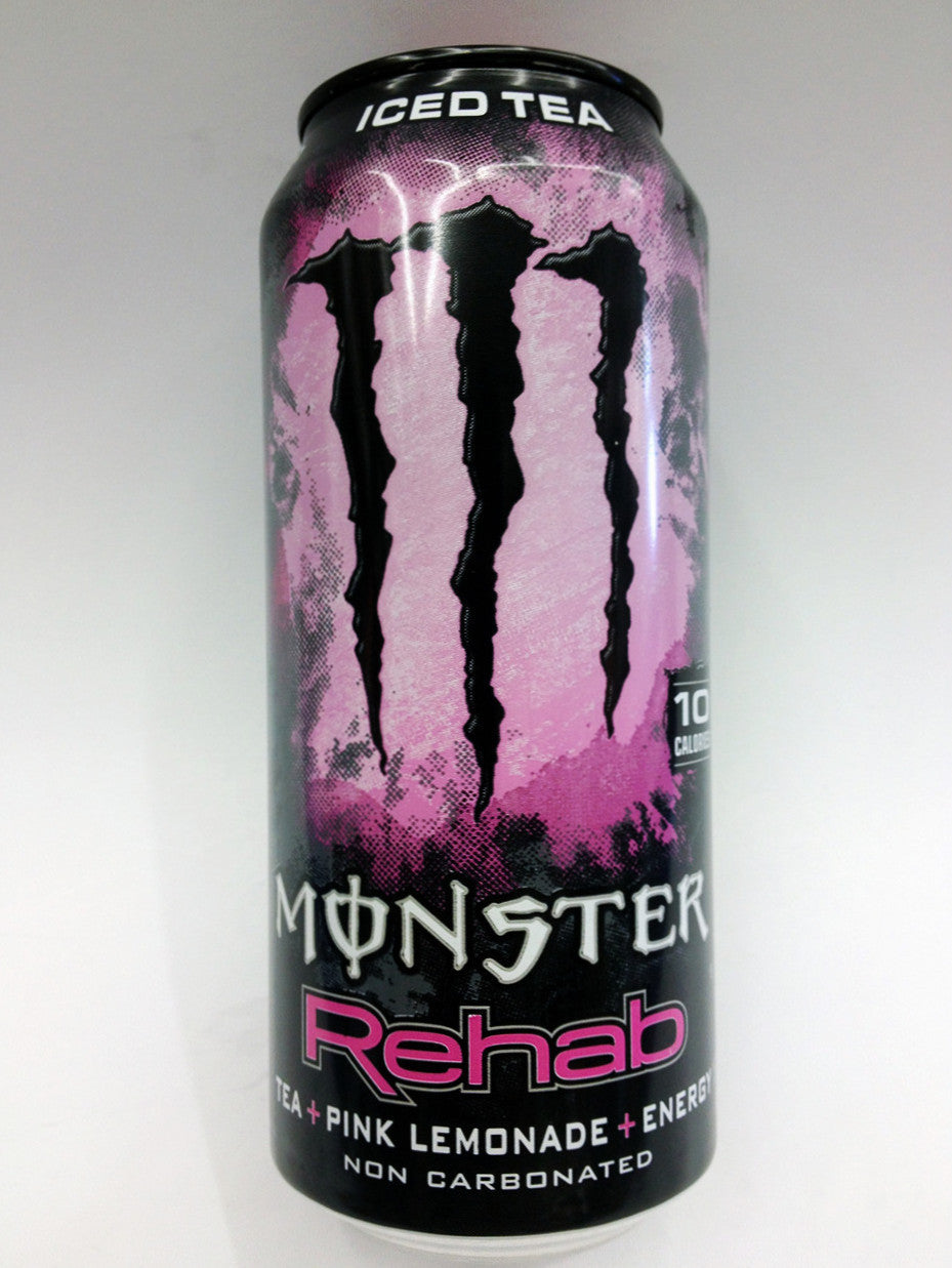 Monster Rehab Iced Tea Pink Lemonade Energy Drink