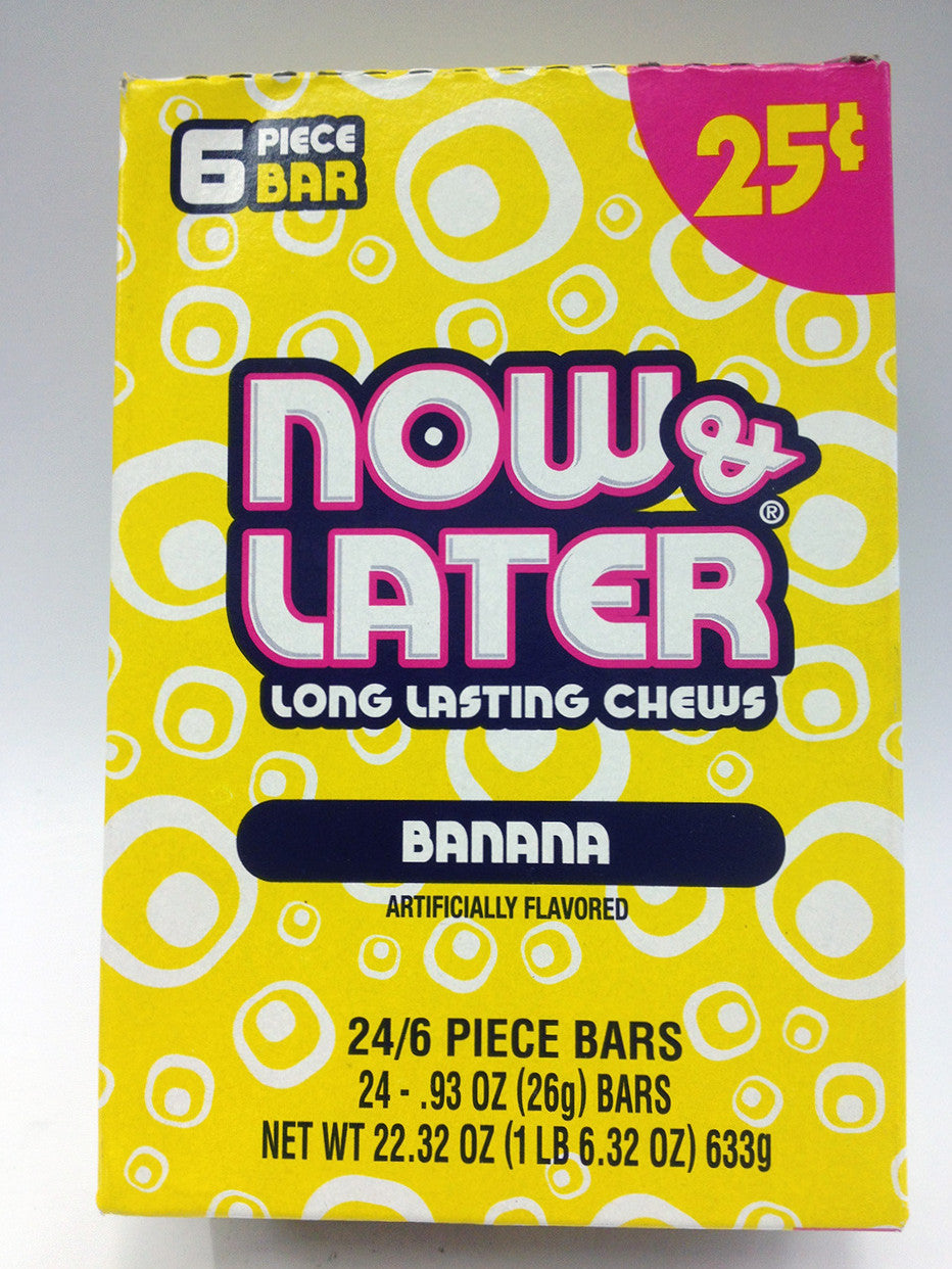 Now & Later Banana
