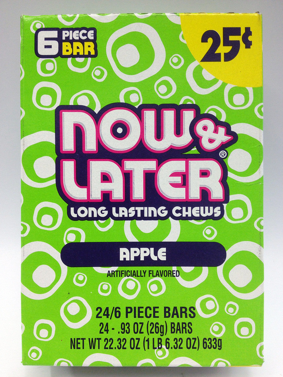 Now & Later Apple