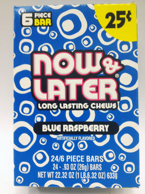 Now & Later Blue Raspberry