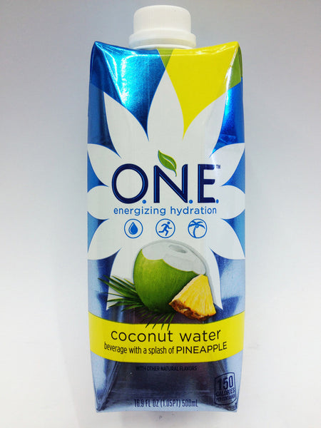 ONE Coconut Pineapple Coconut Water | Soda Pop Shop
