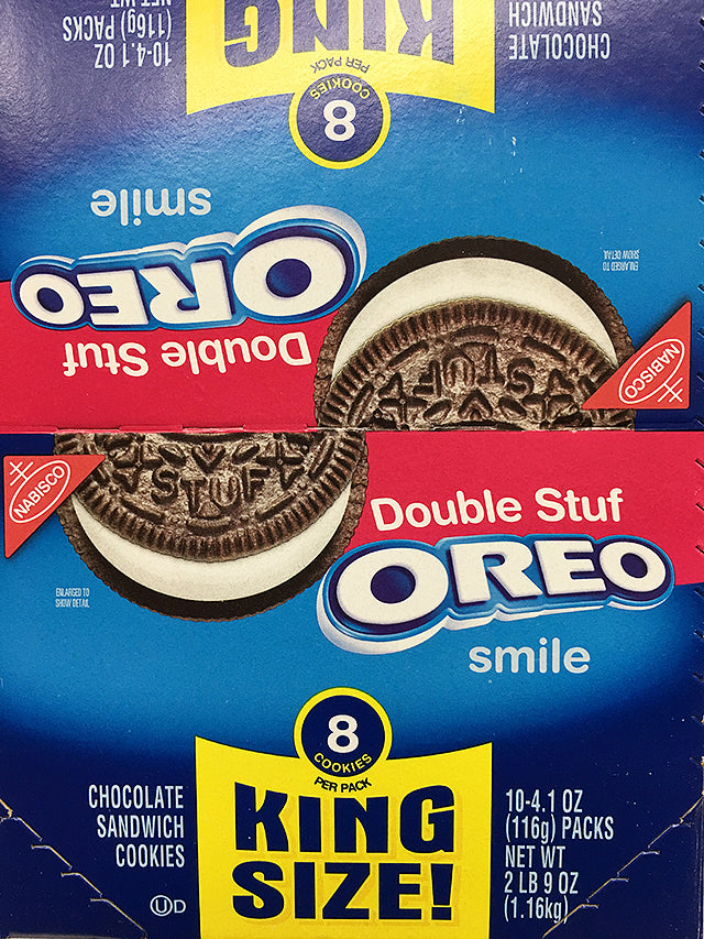 Oreo Double Stuf King Size Cookies 8 Pack King Size