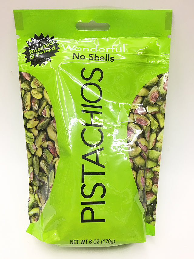 Pistachios Roasted Salted No Shells
