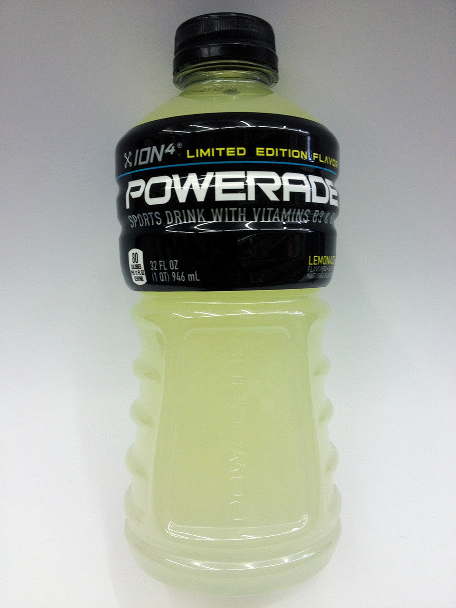 Powerade Lemonade Limited Edition
