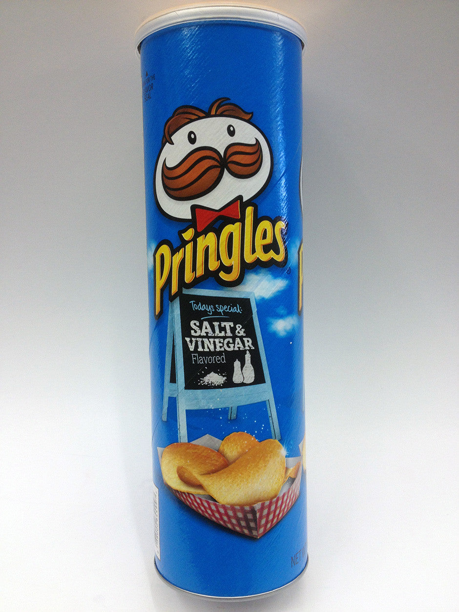 Pringles Salt & Vinegar Chips
