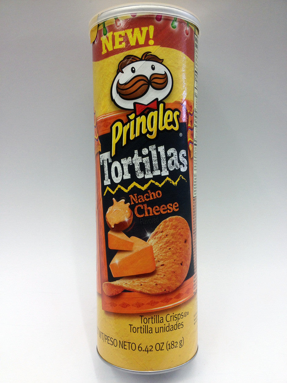 Pringles Tortilla Nacho Cheese Chips