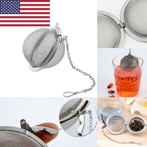 Tea Infuser Stainless Steel Sphere Mesh