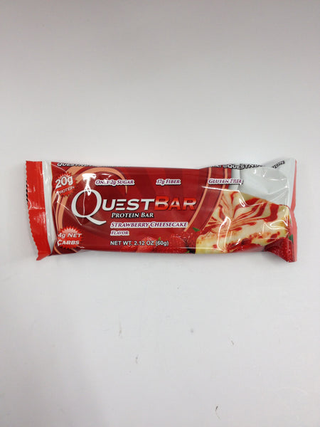 QuestBar Strawberry Cheesecake