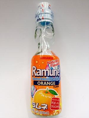 Ramuné Orange Sangaria Japanese Soda