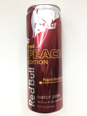 Red Bull Peach Nectarine