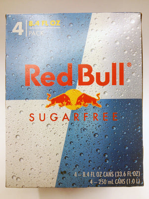 Red Bull Sugarfree 8.4oz 4 Pack