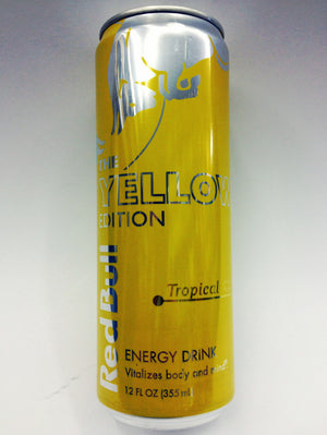 Red Bull Tropical Yellow