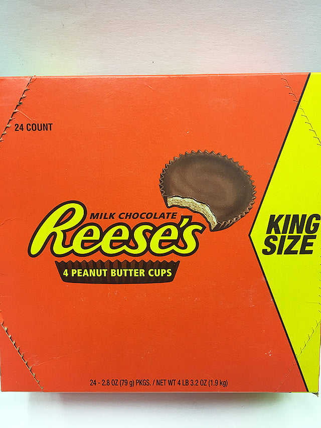 Reese's Peanut Butter Cups 24 Count / King Size