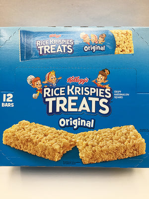 Kellogg's Rice Krispies Treats Original 12 Bars / King Size
