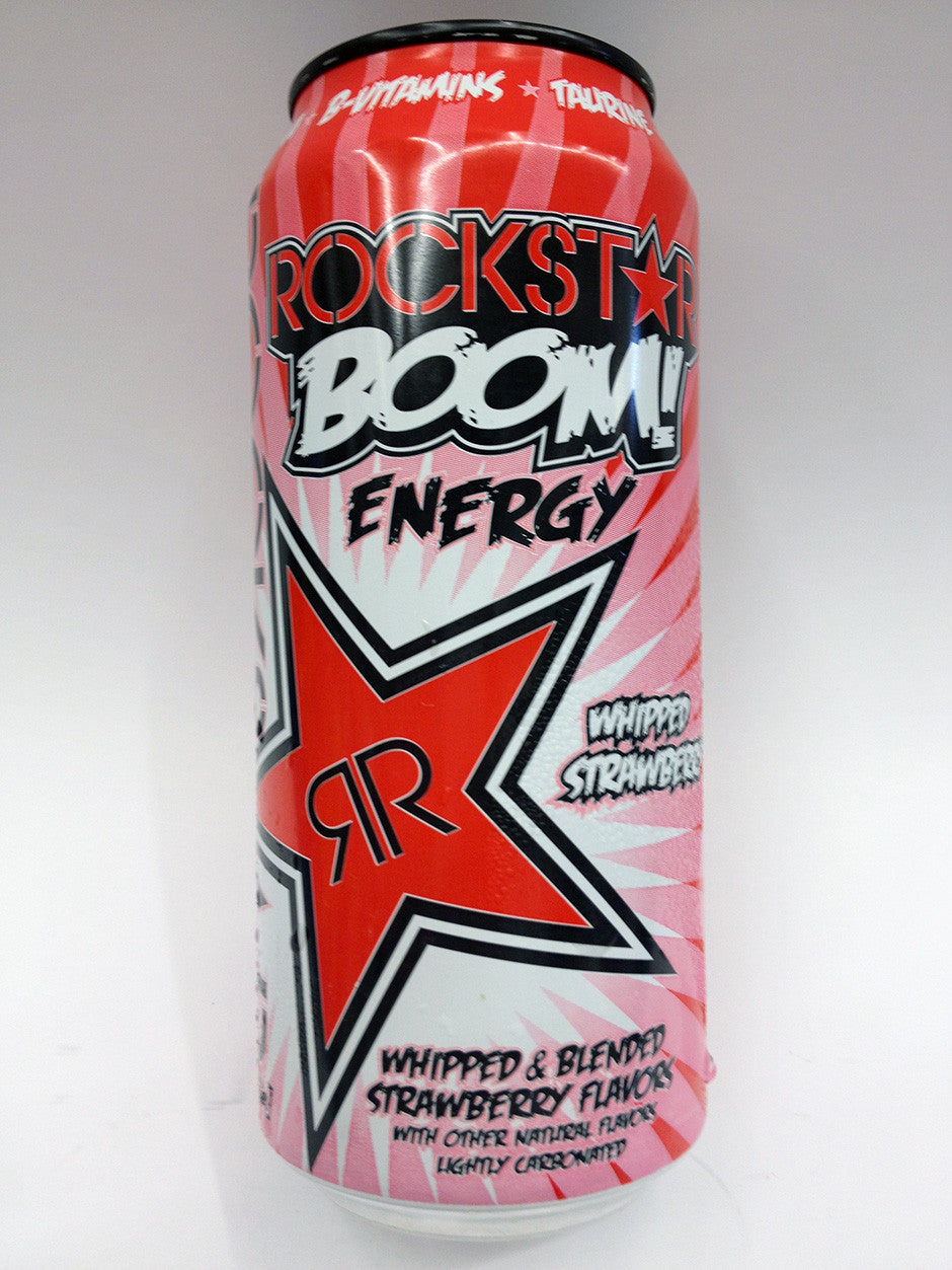 Rockstar Boom Whipped Strawberry