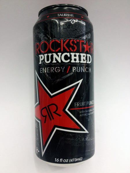 Rockstar Punched Fruit Punch