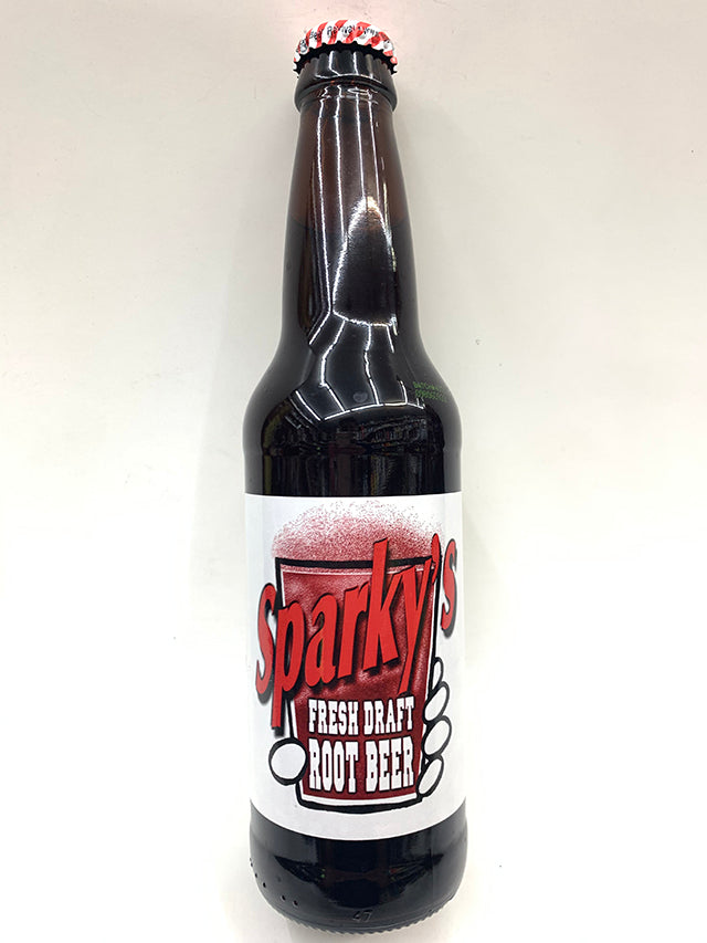 Sparky's Fresh Draft Root Beer