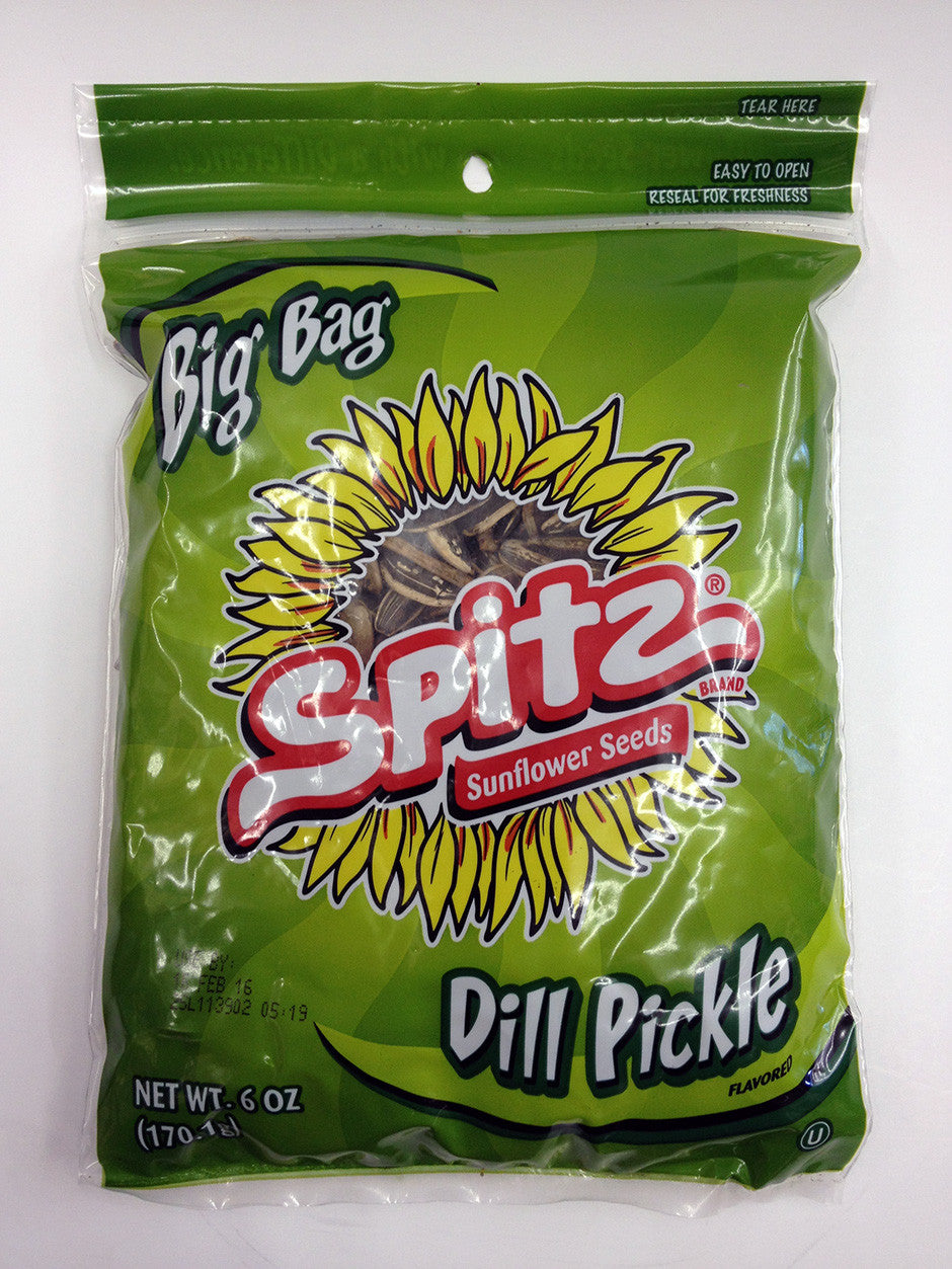 Spitz Dill Pickle Sunflower Seeds