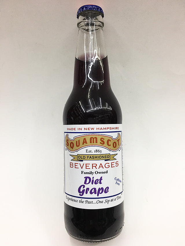 Squamsco Diet Grape Soda