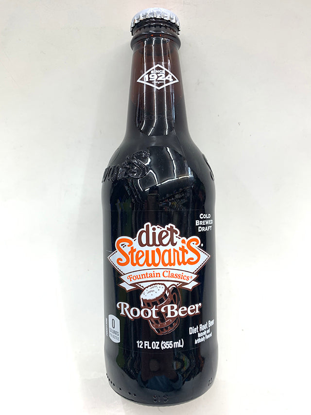 Stewart's Fountain Classics DIET Root Beer