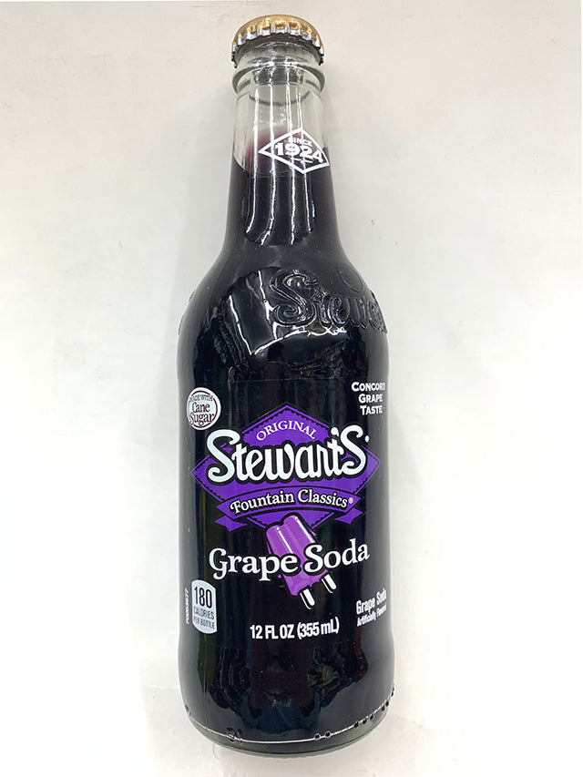 Stewart's Fountain Classics Grape Soda