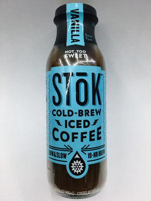 Stok Vanilla Cold Brew Iced Coffee
