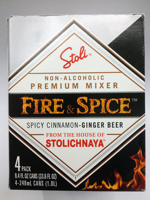 Stolichnaya Spicy Cinnamon Ginger Beer