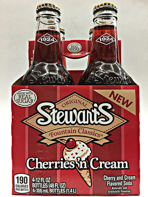 Stewart's Cherries 'n Cream 4 Pack