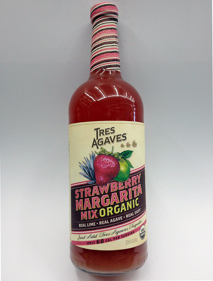 Tres Agaves Organic Strawberry Margarita Mix