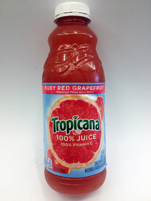 Tropicana Ruby Red Grapefruit Juice