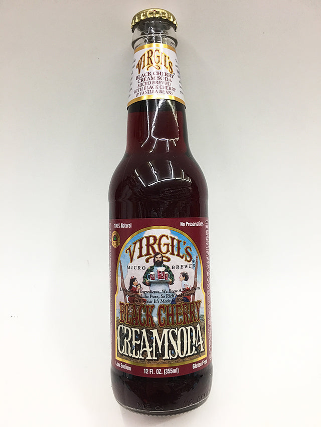 Virgil's Black Cherry Cream Soda
