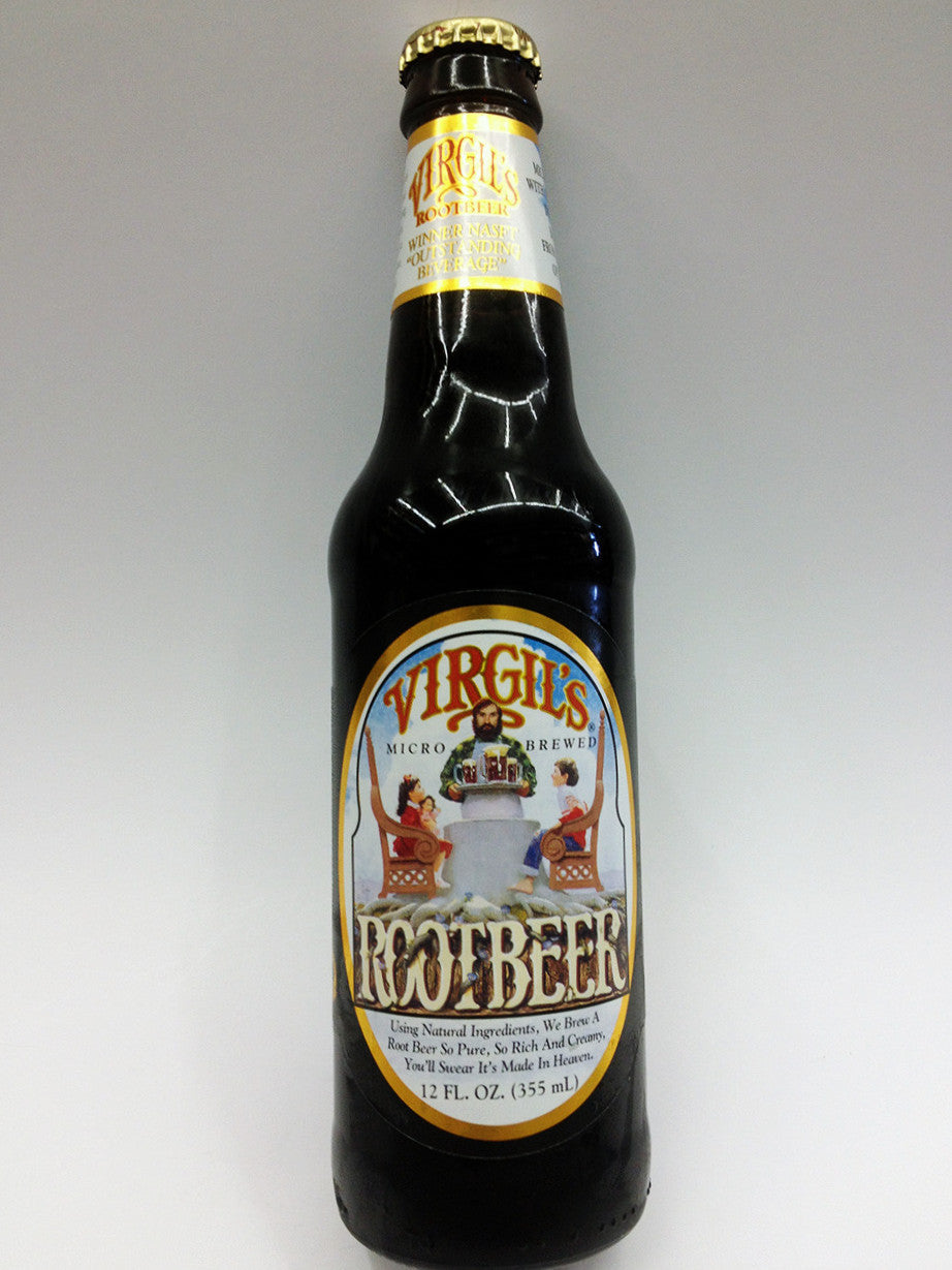 Virgil's Micro Brewed Root Beer Soda