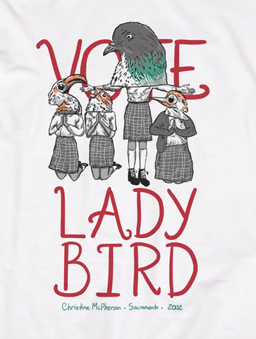 Vote Lady Bird | Masculina