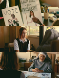 Vote Lady Bird | Feminina, camisetas de filmes