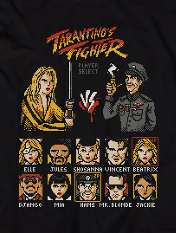 Tarantino's Fighter 8-Bits | Feminina