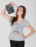 Cinema Independente | Feminino, camisetas de filmes