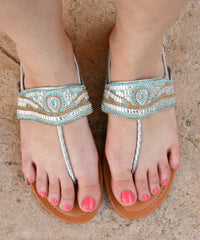 gladiator flat womens silver sandals