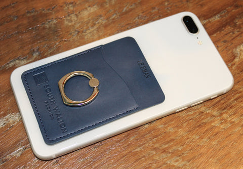 Card Holder with Metal Ring