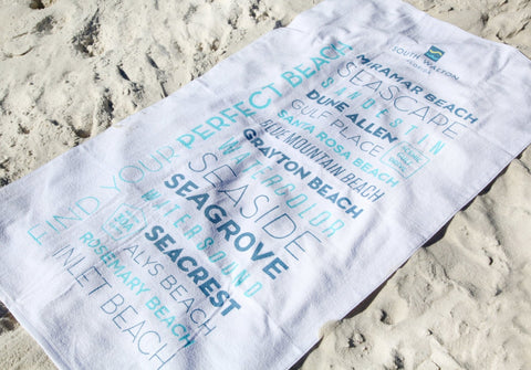 Beach Towel - 16 Beach Neighborhoods