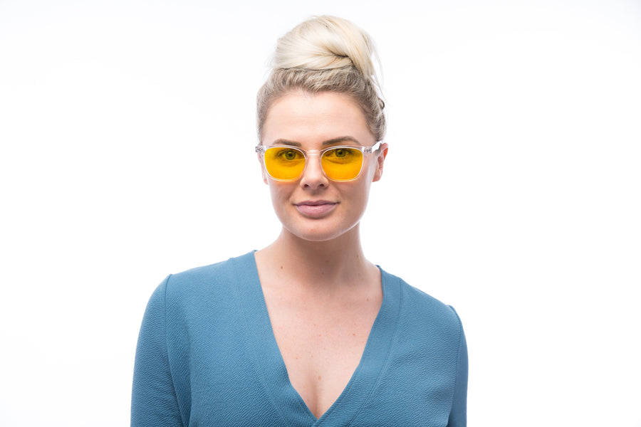 BLUblox Crystal SummerGLO 100% Blue Light Blocking Glasses-BLUblox-Smart Meter Cover