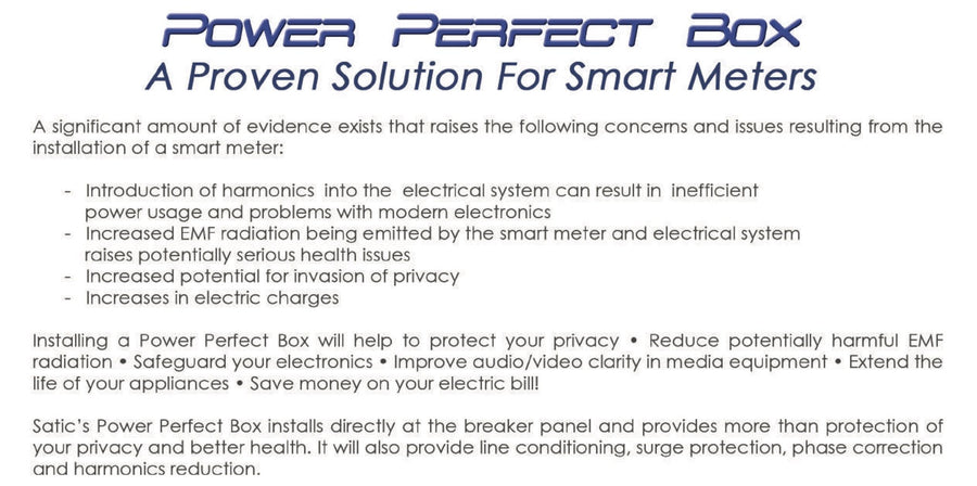 SATIC Power Perfect Box Features