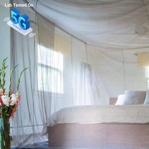 SYB EMF Bed Canopy - 5G tested. Up to 26 GHz.-Shield Your Body-Smart Meter Cover