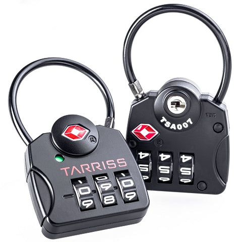 Tarriss TSA SearchAlert Luggage Locks