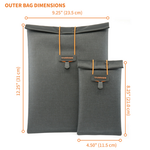 GoDark Faraday Bag Dimensions for Phone and Tablet