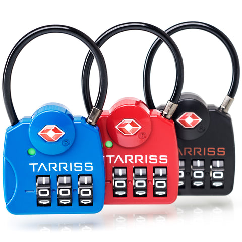 Tarriss SearchAlert TSA Luggage Locks