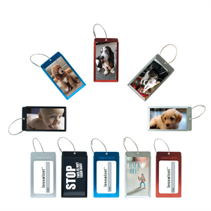 Tarriss Customizable Metal Luggage Tags (2-Pack)