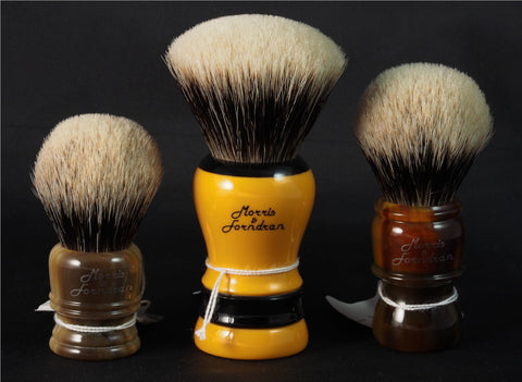 Custom Morris & Forndran Shaving brushes