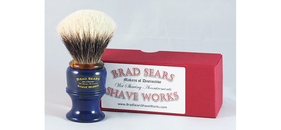 The Poly Shaving Brush by Brad Sears Shave Works